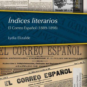 Índices literarios. El Correo Español (1889-1898)